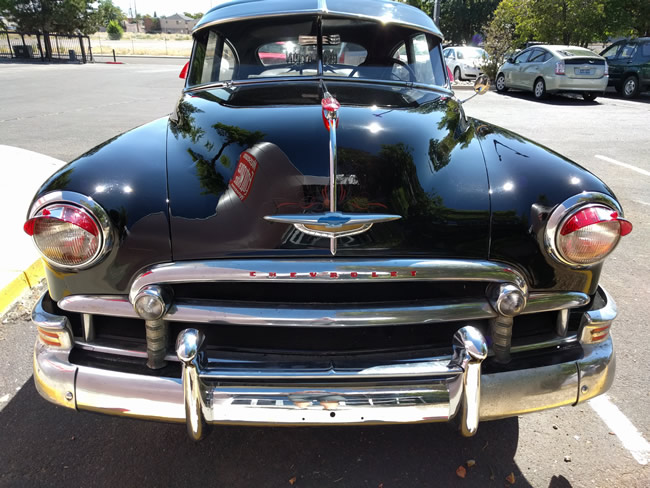 Image of 1950 Chevrolet classic car in Nevada USA