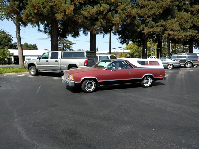 Image of 5th generation El Camino in perfect running condition