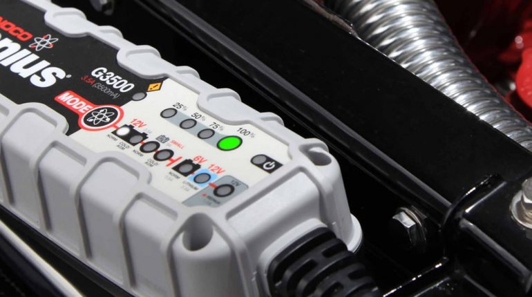 6V 12V Battery Charger Maintainer for classic cars, trucks, and motorcycles
