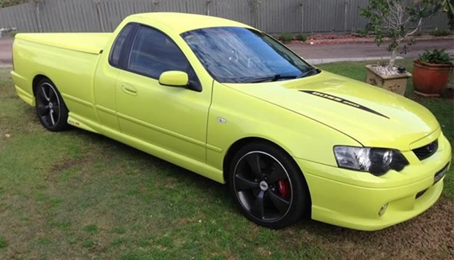 ford-ute-bright-yellow