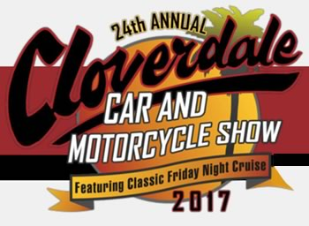Cloverdale autoshow September 8 and 9 2017