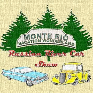 Monte Rio car show California