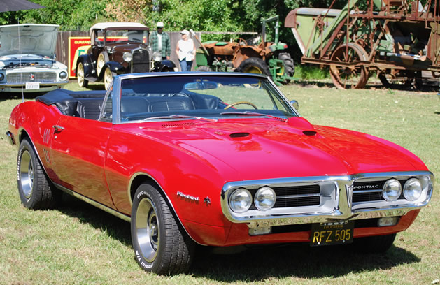 Factory original 1967 Pontiac Firebird 400