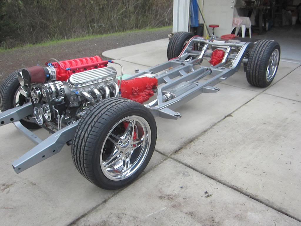 Morrison chassis with the LS engine