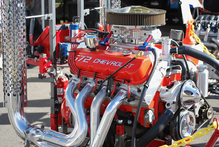 Image of Chevrolet 572 cubic inch crate engine from Dublin Chevrolet (California)