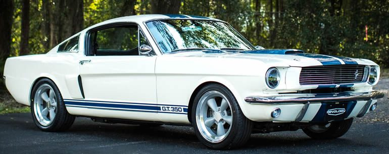 GT-350 1965 Mustang made up entirely of brand new 65 Mustang parts
