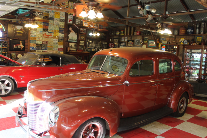 Automobilia available at the auction