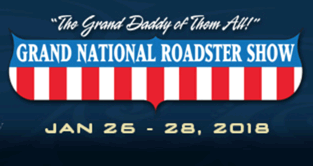 Logo for the Grand National Roadster Show