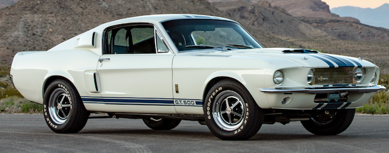 Mustang GT500 there was only one ever built