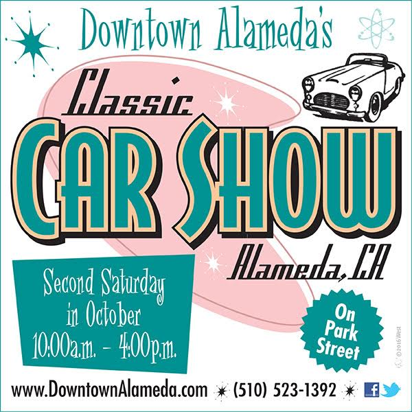Downtown Alameda's Classic Car Show Alameda California On Park Street