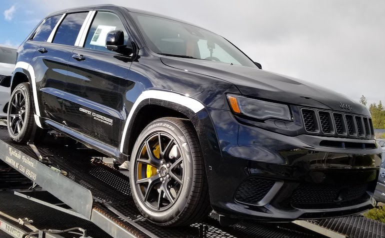 Just delivered directly from the factory. Jeep Grand Cherokee Trackhawk