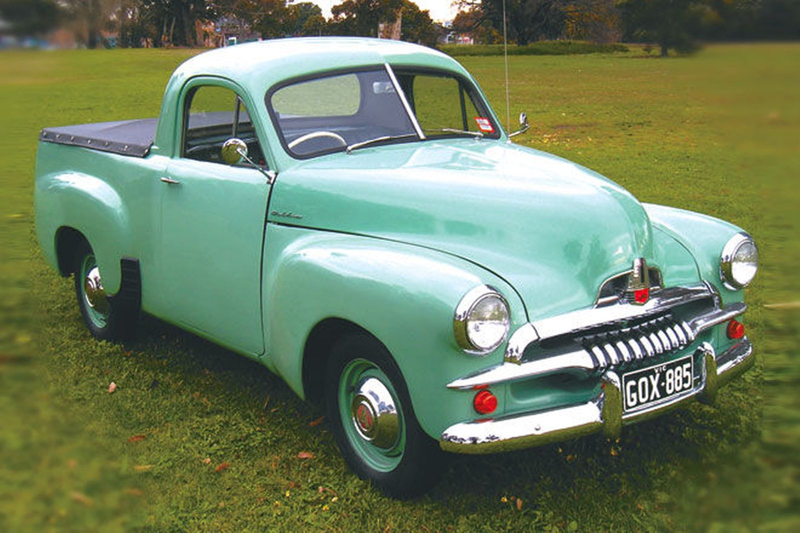 Holden Ute FJ model the first ute to carry the Holden Ute name was the 48-215 which was officially named the first ever Australian designed and built Holden Ute