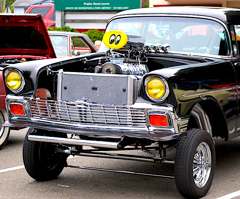 Image of 56 Chevrolet hot rod