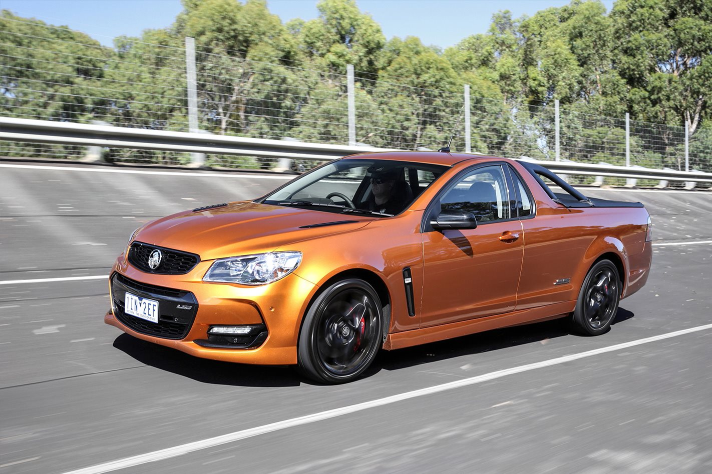 Image of the last Holden Ute ever produced in Australia