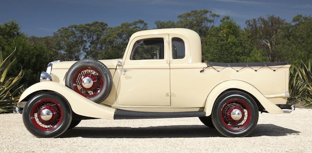First ever coupe utility or Australian ute 1934 Ford