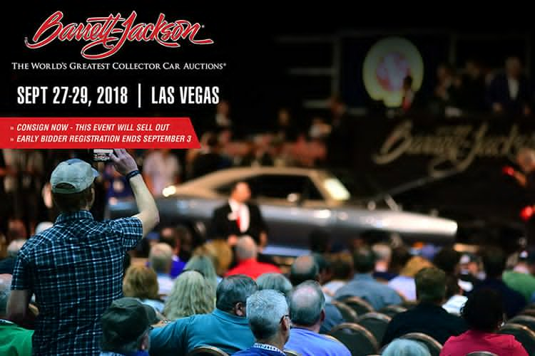 Barrett-Jackson car auctions in Las Vegas