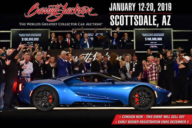 Barrett Jackson Auction Las Vegas 2018 Gasers Com