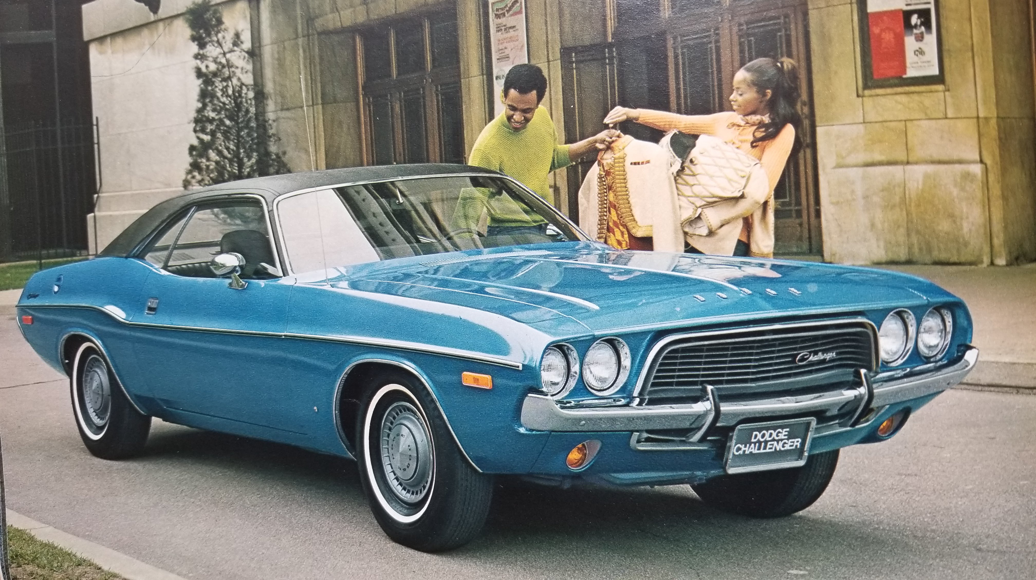 Image of Dodge Challenger in 1972