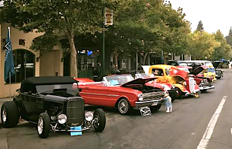Cloverdale classic car and motorcycle show