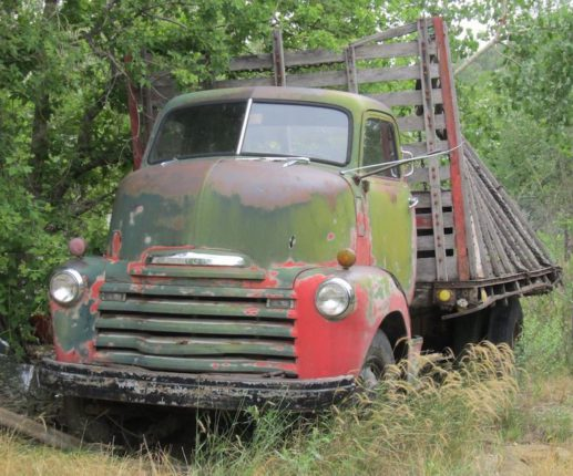 1953 Chevrolet Cabover truck barnfind in souther Colorado ready for immediate sale