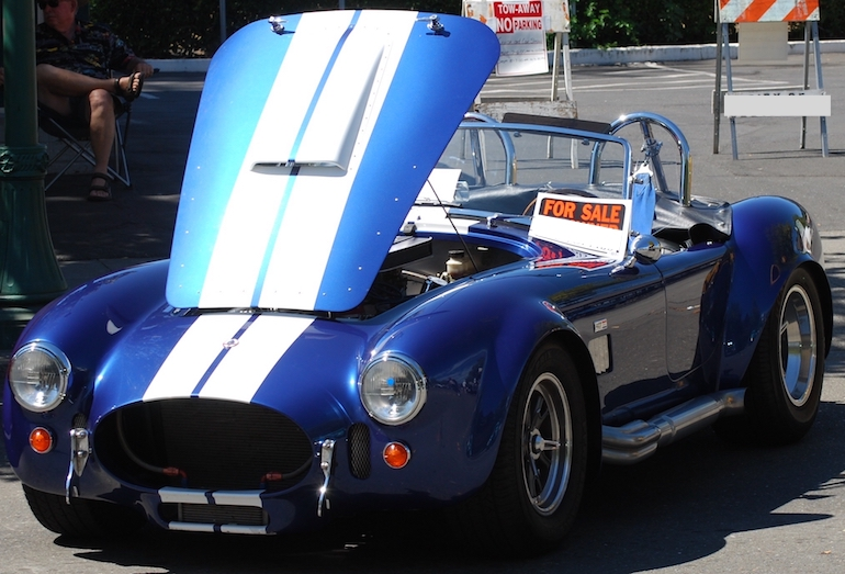 AC Cobra 427 cubic inch V8 available now for private sale in California