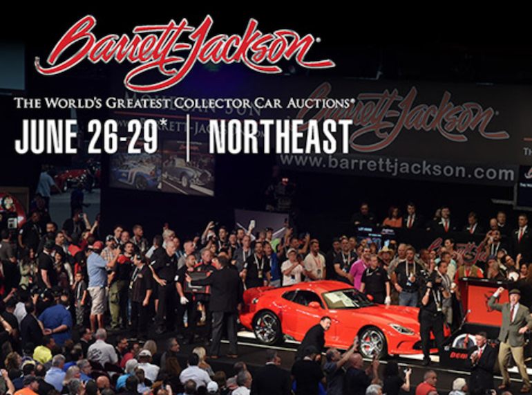 Barrett-Jackson Northeast classic car auction for 2019