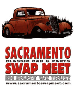 Graphic for Sacramento Classic car and parts swap meet in October 2019